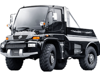 Mercedes-Benz Unimog Black Edition